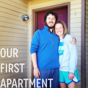 Our First Apartment: Before | Eats & Makes