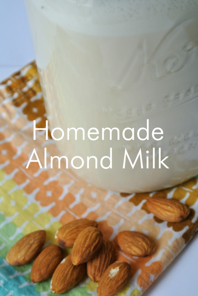 DIY Homemade Almond Milk | Eats & Makes