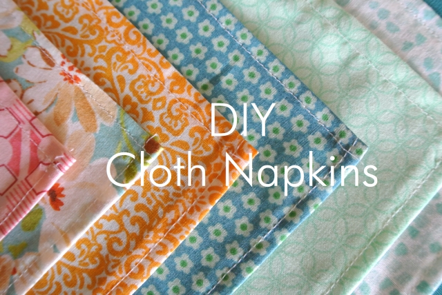 Cloth Napkins | Eats & Makes