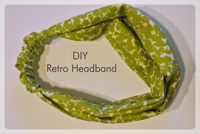 Retro Headband | Eats & Makes