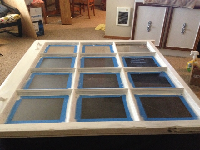 Picture Frame Window | Eats & Makes