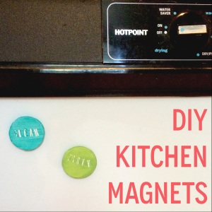 DIY Kitchen Magnets | Eats & Makes